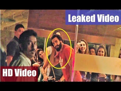 WATCH Ranveer Singh PARTYING with Friends | LEAKED VIDEO. See the full video at : https://youtu.be/yowbm_CSFrM #ranveersingh #bollywoodnewsvilla