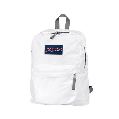 JanSport Superbreak Backpack, White, at Journeys Shoes