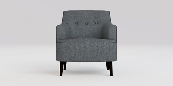Buy Carter Chair (1 Seat) House Textured Charcoal Tall Retro - Dark from the Next UK online shop