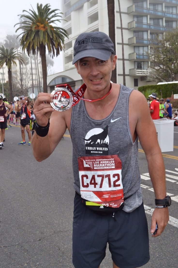 Piotr Golos. 3:56:02 Finishline Santa Monica