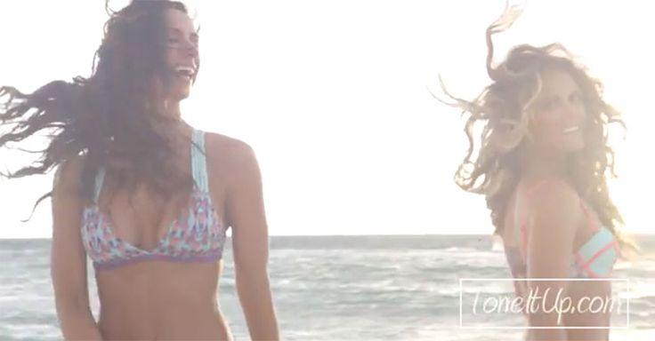 Breaking Beachy Waves News: #ToneItUp Tutorial - SELF