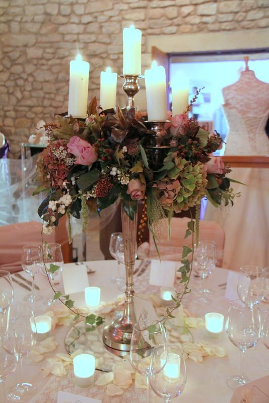Flower Design Events: A Spectacular Collection of Candlelit Table Designs at The Tithe Barn at Browsholme Hall Open Day