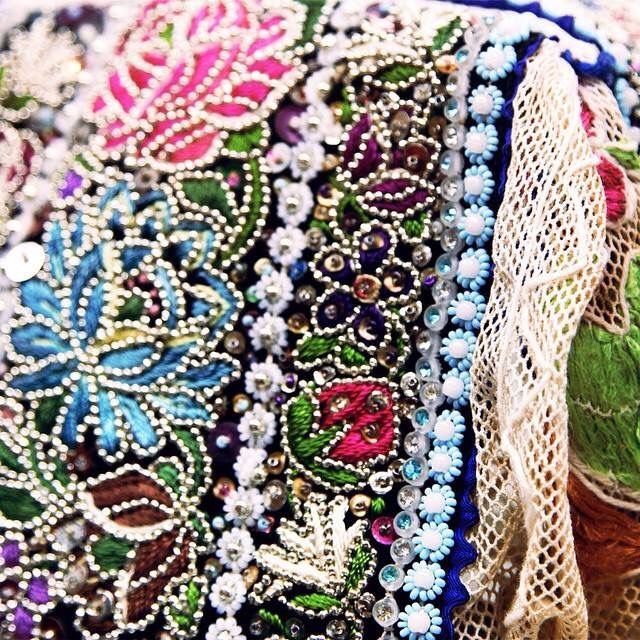 Slavic Folklore - embroidery detail