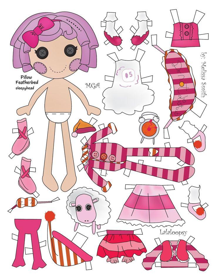 Miss Missy Paper Dolls: Lalaloopsy Paper Dolls pt 2