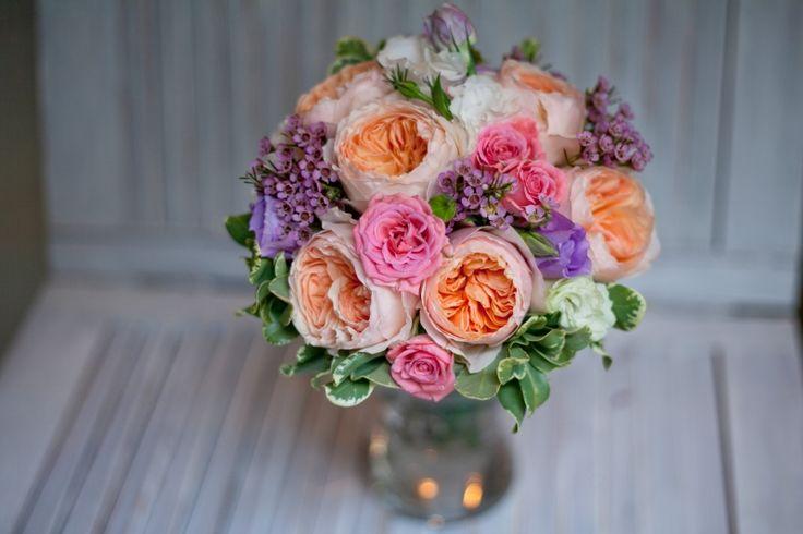 #свадебный букет #wedding bouquet#david Austin
