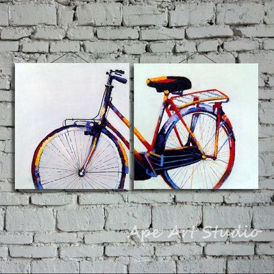 25 best ideas about bicycle painting on pinterest for Bicycle painting near me