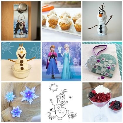 Too-Cool Frozen-Inspired Crafts & Recipes | Spoonful