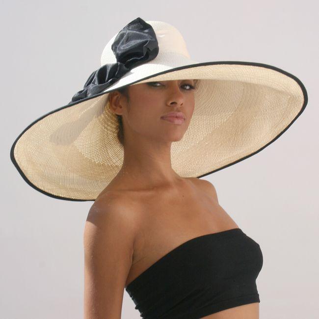 A very big hat...................... http://pinterest.com/fancybt/boards/ …