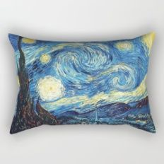 Stary Night Rectangular Pillow