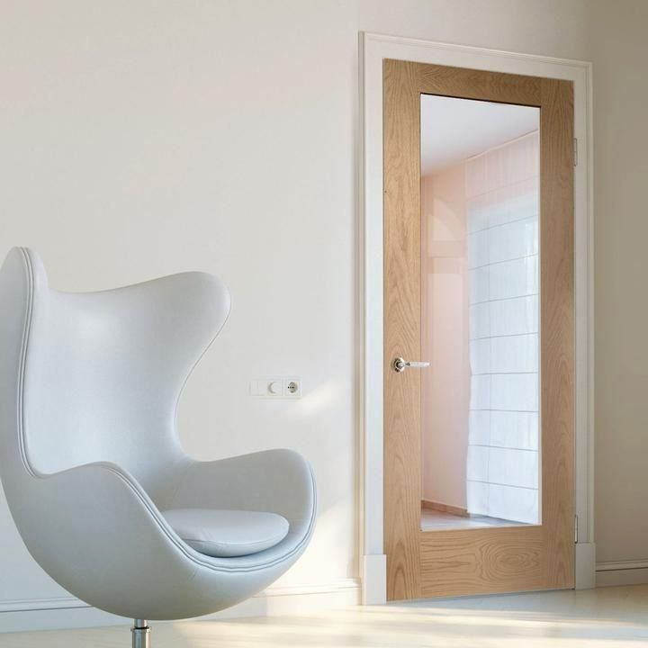 Oak Internal Doors Glazed Panel Flush Direct Doors Uk 1000 In 2020 Internal Glass Doors Internal Doors Door Glass Design