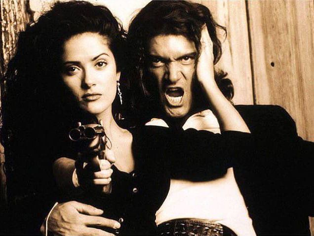Antonio Banderas commemorated the 20th anniversary of the premiere of Desperado with a #throwback picture. The Spanish actor took to Instagram to post a promotional photo from the movie with costar Salma Hayek, saying he can't believe how much time has passed. The pair went on to work together in Frida, Spy Kids 3-D: Game Over, and, of course, the animated movie Puss in Boots.