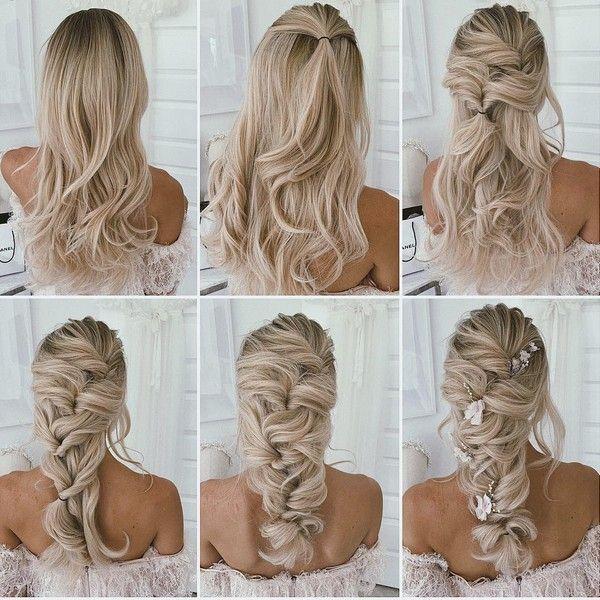 30 Prom Wedding Hairstyle Tutorial For Long Hair Roses Rings Part 3 Wedding Hairstyles Tutorial Braided Hairstyles For Wedding Hair Styles