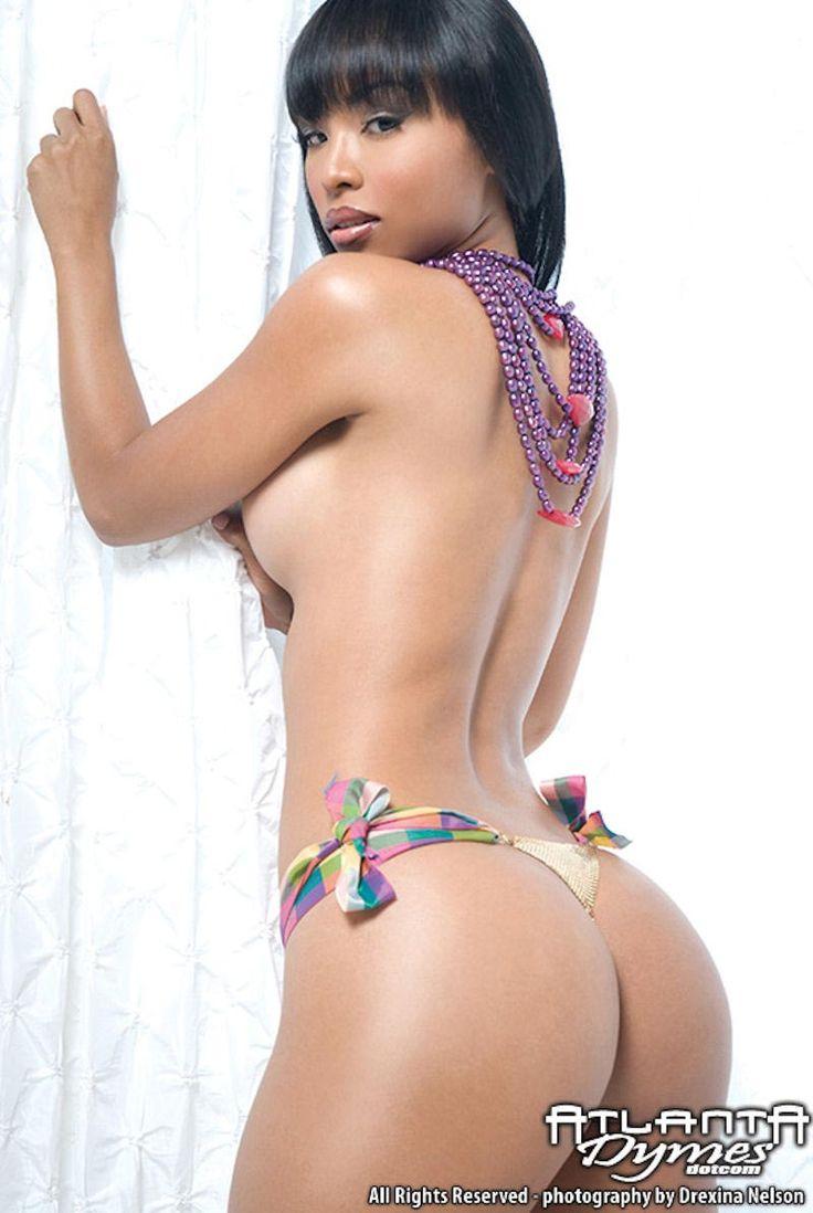 pregnant black woman strips naked