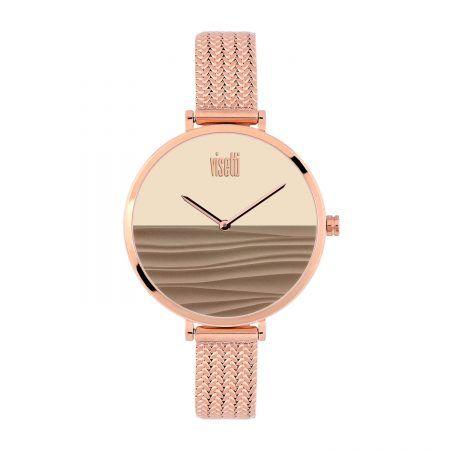 Ρολόι Visetti  terra series  rose gold Steel Bracelet  PE/989-RL