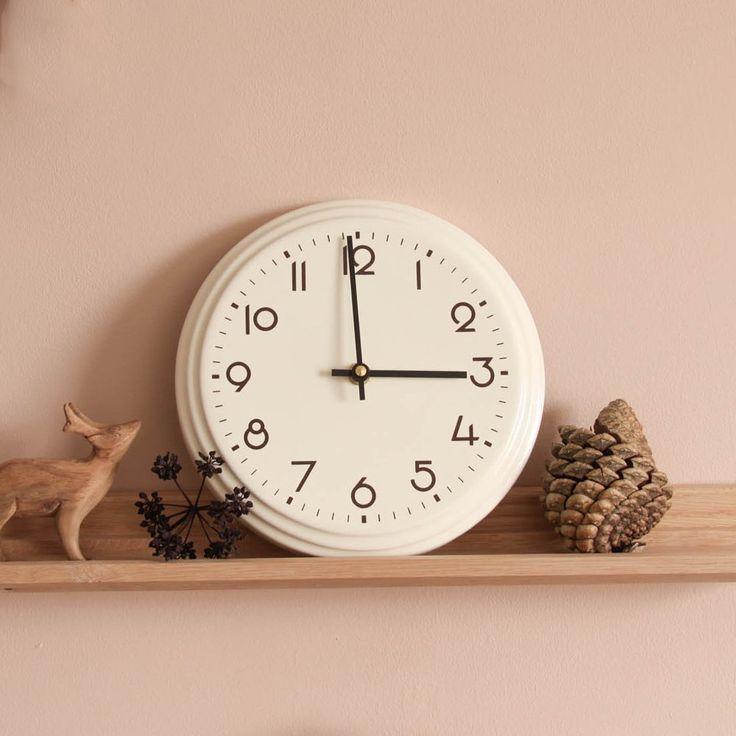Best Ceramic 50 S Style Clock Against Farrow Ball Setting 640 x 480