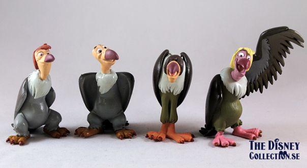 The Vultures; Ziggy, Buzzie, Dizzy, Flaps