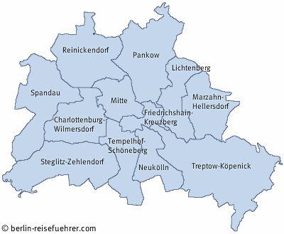 Bezirke und Stadtteile von Berlin