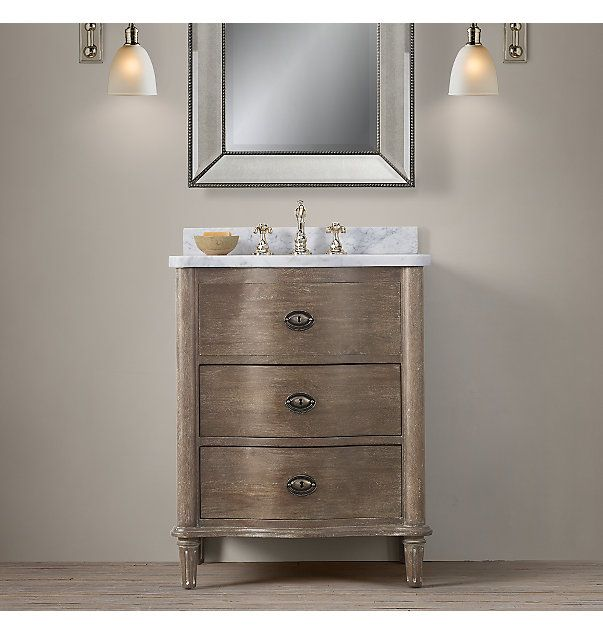32 best images about vanities 30 on pinterest louis for Powder room vanity sink