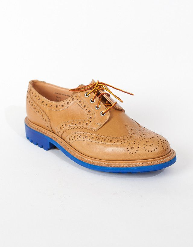 Mark McNairy New Amsterdam — CITY BROGUE. Make into golf shoe.