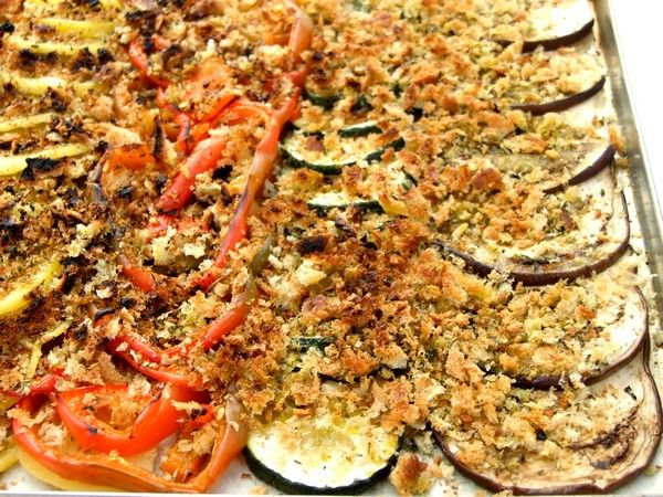 Il Crumble di verdure è un contorno insolito e sfizioso. Facile da preparare. ecco la ricetta