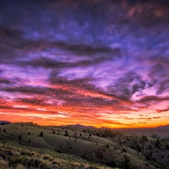 Laramie, Wyoming.  It really isn't unusual to see skies like this !