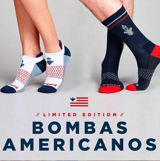 Bombas Americanos are now available at bombas.com.