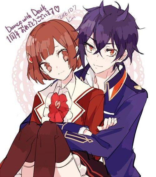 Dance with Devils- Shiki x Ritsuka #Anime #Game #Otome