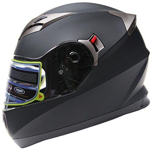 Oferta: 69.99€. Comprar Ofertas de YEMA Helmet YM-829 Casco Integrales con Doble Visera-Negro Mate-XL barato. ¡Mira las ofertas!