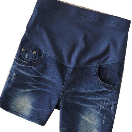 Gravida короткие джинсы беременная одежда летние джинсовые шорты Большой размер одежды для беременных капри брюки больших размеров эластичные шорты