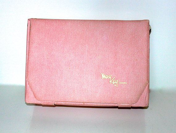 RETRO MARY KAY Case  Makeup Carrying Case  by JanisJemsVintage