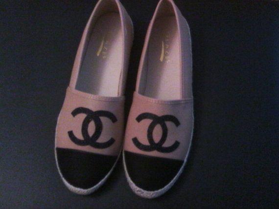 Chanel Espadrilles by IVYSCLOSET6 on Etsy #espadrilles #cheapespadrilles