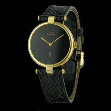 CARTIER - Must Vendôme Vermeil, cresus montres de luxe d'occasion, http://www.cresus.fr/montres/montre-occasion-cartier-must_vendome_vermeil,r2,p23420.html
