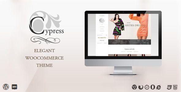 Cypress - woocommerce theme  - WooCommerce eCommerce