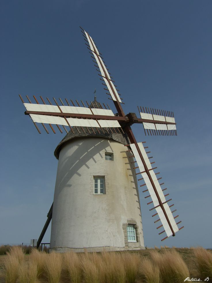 Moulin de la Conchette - Jard-sur-Mer in the region of Pays de la Loire, France         ...............wwwflicker.com