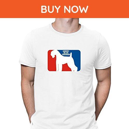 Teeburon Kerry Blue Terrier Sports Logo T-Shirt - Sports shirts (*Amazon Partner-Link)