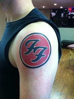 Russell Widner: Foo FIghters Tattoo
