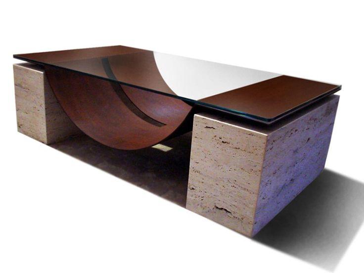 Glass Coffee Table MALLORCA By Gonzalo De Salas