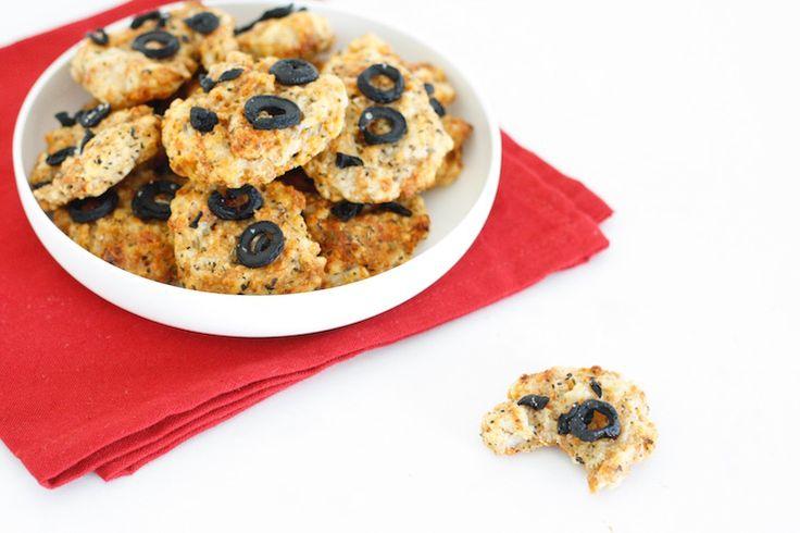 Gezonde hartige koekjes | Chickslovefood.com | Bloglovin'