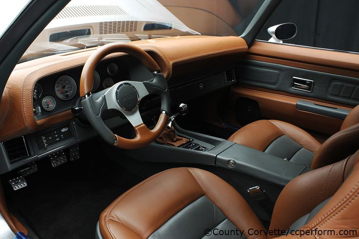 "70 camaro silver grey. Custom Leather Brown Charcoal black Interior Custom Build – ""Sonnie"" | CC Performance door panels dash console"