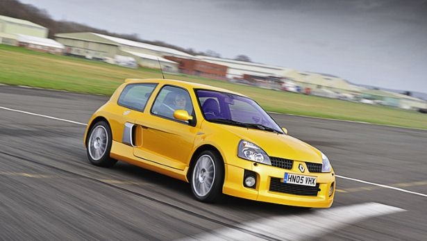 Renaultsport Clio V6 - A bonkers mid-engined, impractical hot hatch. Too bad these never made it to the US.
