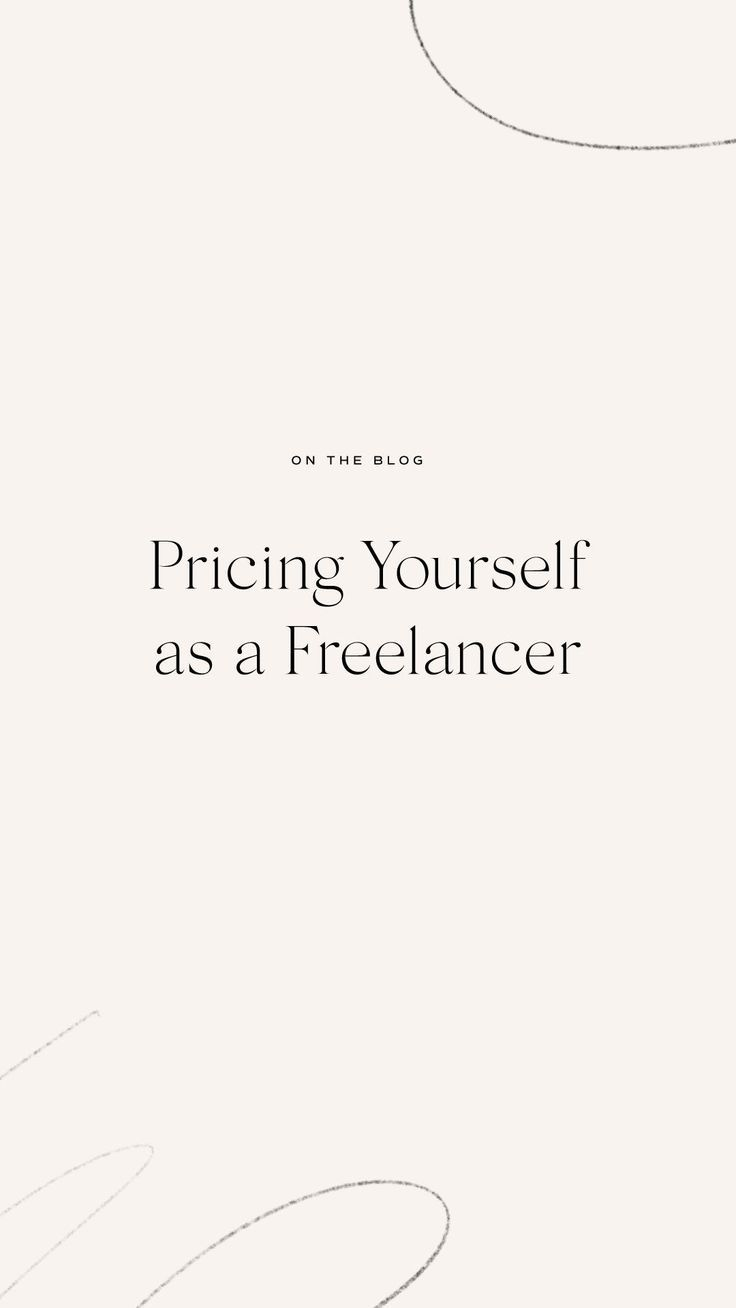 Freelance Pricing Freelance Web Design Freelance Graphic Design Small Business Tips