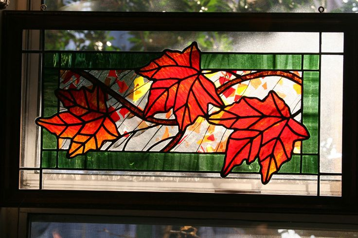colored leaves stained glass patterns | What makes your work unique from everyone else's?