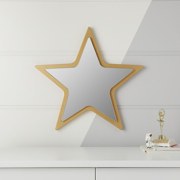 Star Shaped Mirror Reviews Crate And Barrel Kids