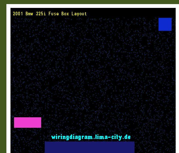 2001 Bmw 325i Fuse Box Layout  Wiring Diagram 17456