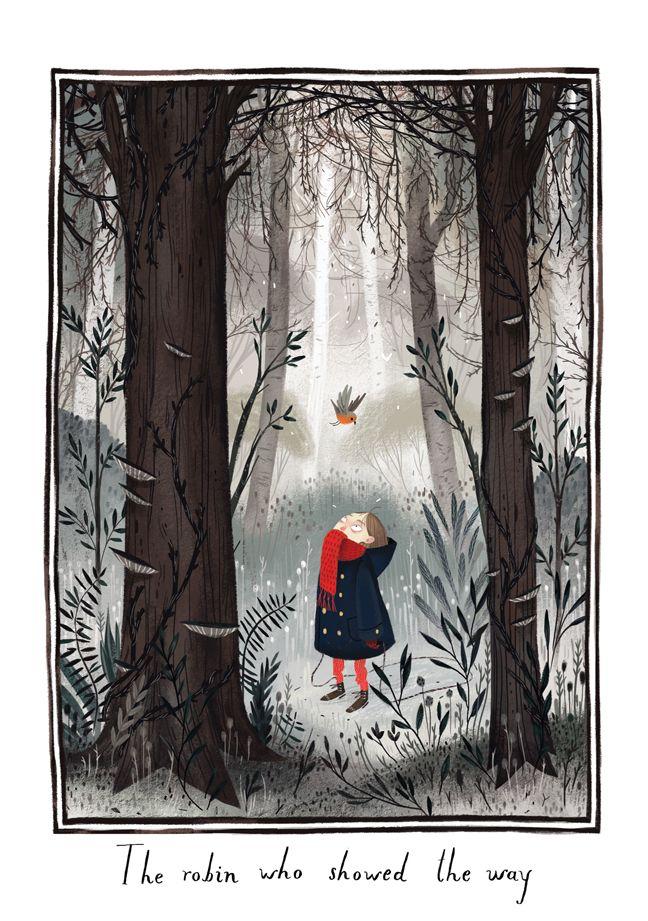 Scenes from The Secret Garden by Júlia Sardà on...  