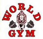 World Gym clothing features their famous gorilla icon.  This screen-print appears on the mens tank top and World Gym shirt.  The same image is on the bodybuilding sweatshirt and workout short. https://www.bestforminc.com/categories/workout_clothes_store_golds_gym_world_powerhouse_pitbull/world-gym.cfm