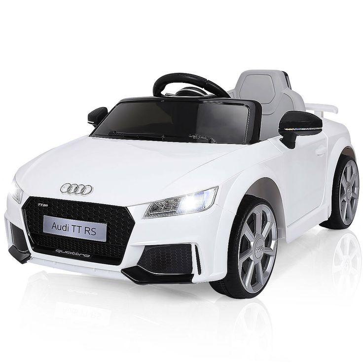 Audi Tt White Transportation Design In 2020 Audi Tt Audi Tt Rs Kids Ride On