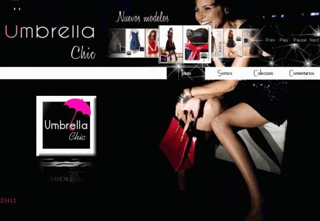 Umbrella Chic   www.vestidosdegraduacion.cl