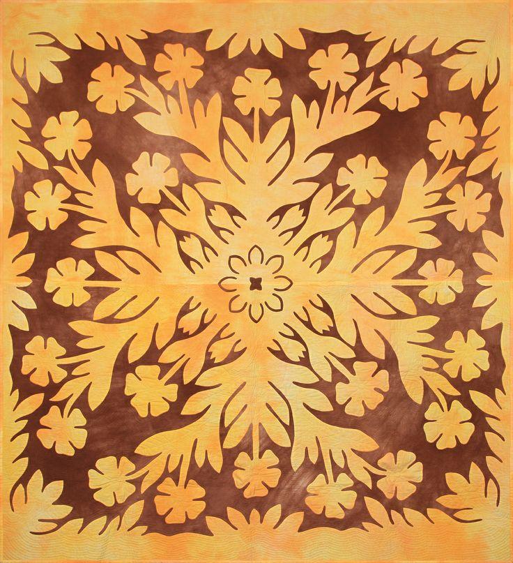 """""""Hawaiian"""" by KA Jung 228cm*245cm"""