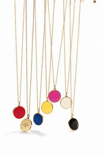 pretty pendants!